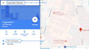 Mein Unternehmen zu Google Maps hinzufügen