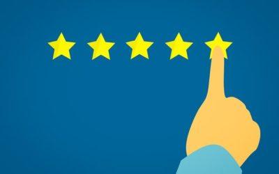 Sterne bei Google erhalten