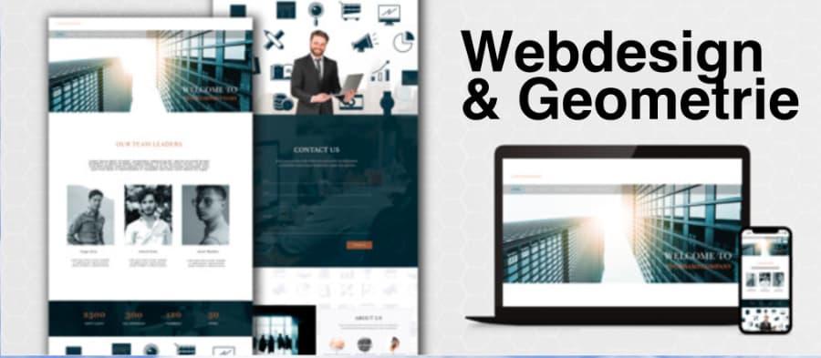 Webdesign geometrie
